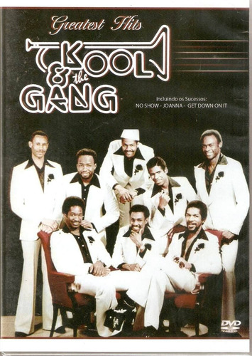 dvd - kool & the gang - greatest hits - lacrado