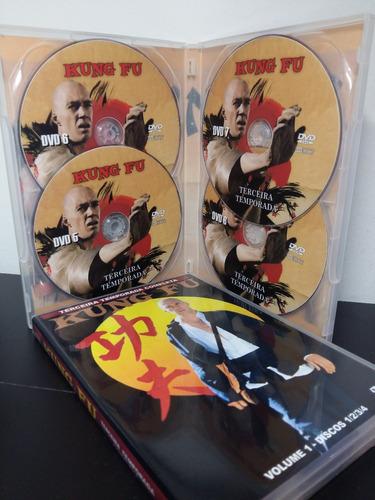 dvd kung fu a série tv completa (22 dvds)