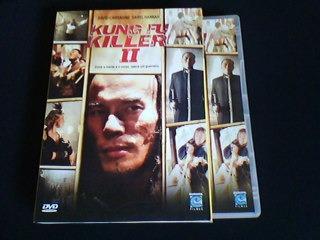 dvd kung fu killer 2 - capa com luva
