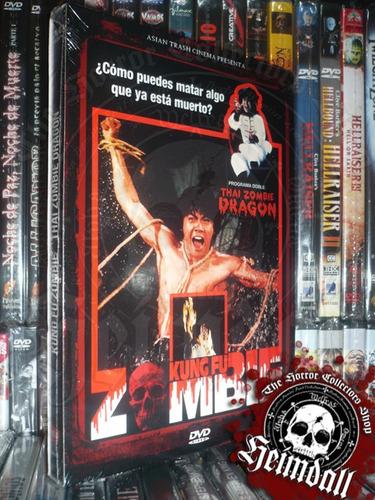 dvd kung fu zombie + thai zombie dragon terror gore horror
