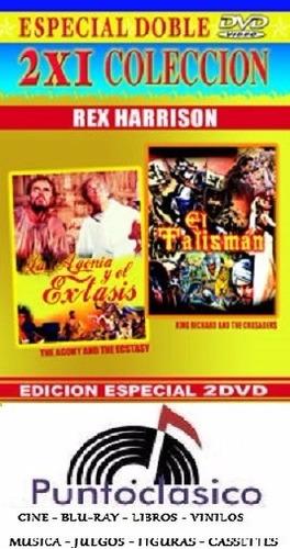 dvd - la agonía y el éxtasis  - el talisman