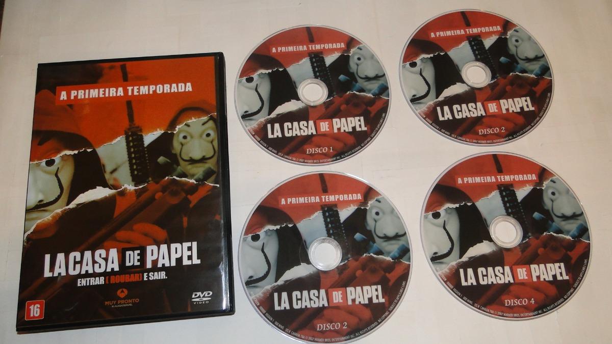 Dvd la casa de papel 1 temporada dublado e legendado r 40 00 em mercado livre - La casa de papel temporada 2 capitulo 1 ...