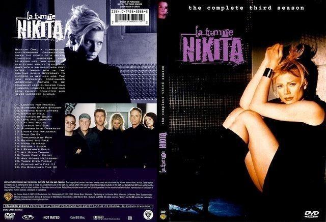 Dvd - La Femme Nikita - 4º E 5º Temporadas - Legendado