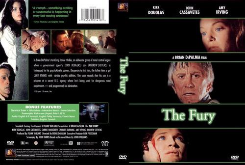 dvd la furia the fury scanners telepatas brian de palma gore