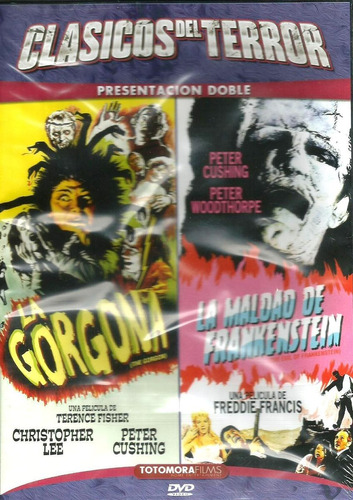 dvd la gorgona + la maldad de frankenstein  nvo elfichu2008