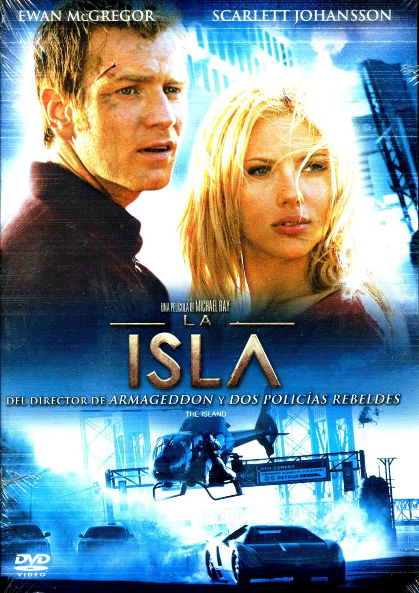 Dvd la isla the island 2005 michael bay - La isla dela cartuja ...