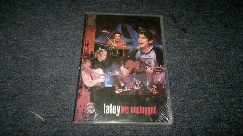 dvd la ley mtv unplugged  en formato dvd,checalo