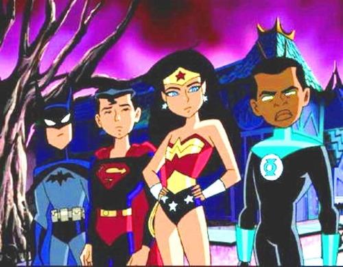dvd la liga de la justicia sin limites salvando al mundo dc