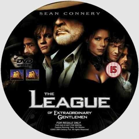 dvd la liga extraordinaria the league of the extraordinary
