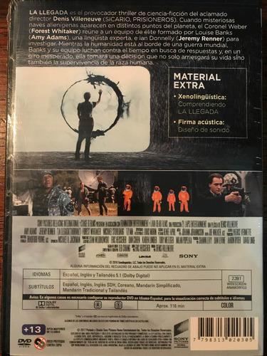 dvd la llegada / the arrival