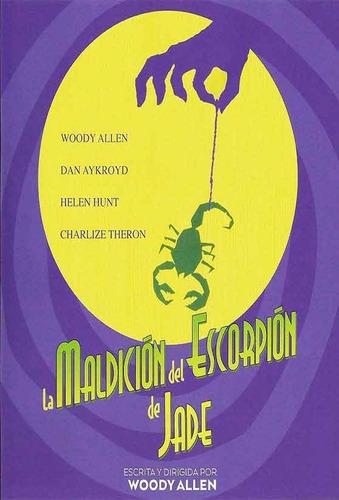 dvd - la maldicion del escorpion de jade