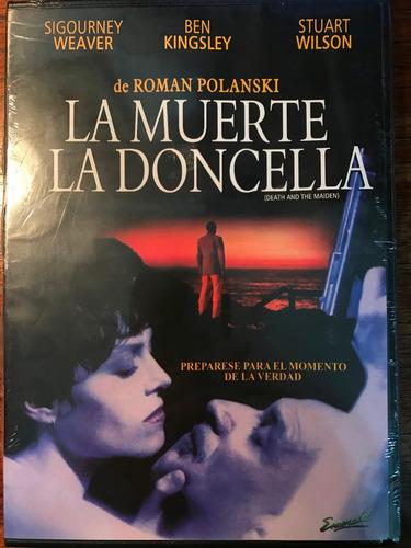 dvd la muerte y la doncella / de roman polanski