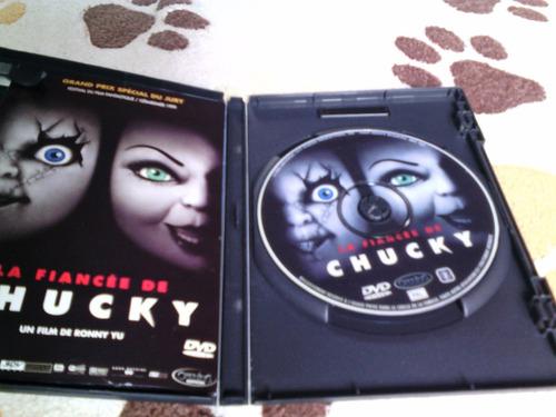 dvd la novia de chucky frances importado pal terror fans