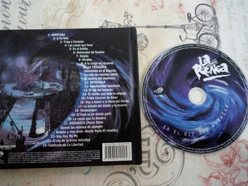 dvd la renga en el ojo del huracan - 2004 - original