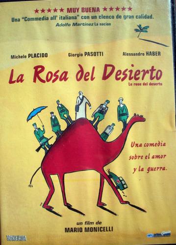 dvd - la rosa del desierto - mario monicelli