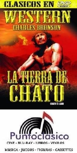 dvd - la tierra de chato - charles bronson