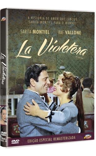 dvd la violetera, com sarita montiel - raf valone,  1958 +