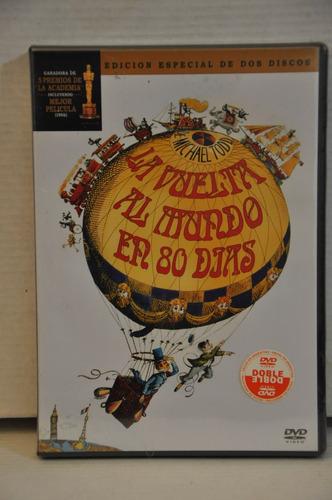 dvd la vuelta al mundo en 80 dias - 2 discos - julio verne