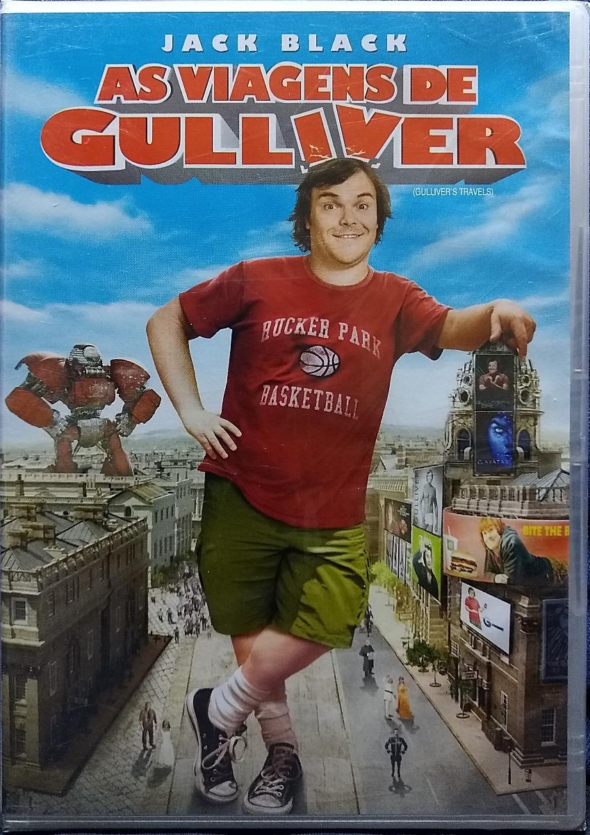 Dvd Lacrado As Viagens De Gulliver