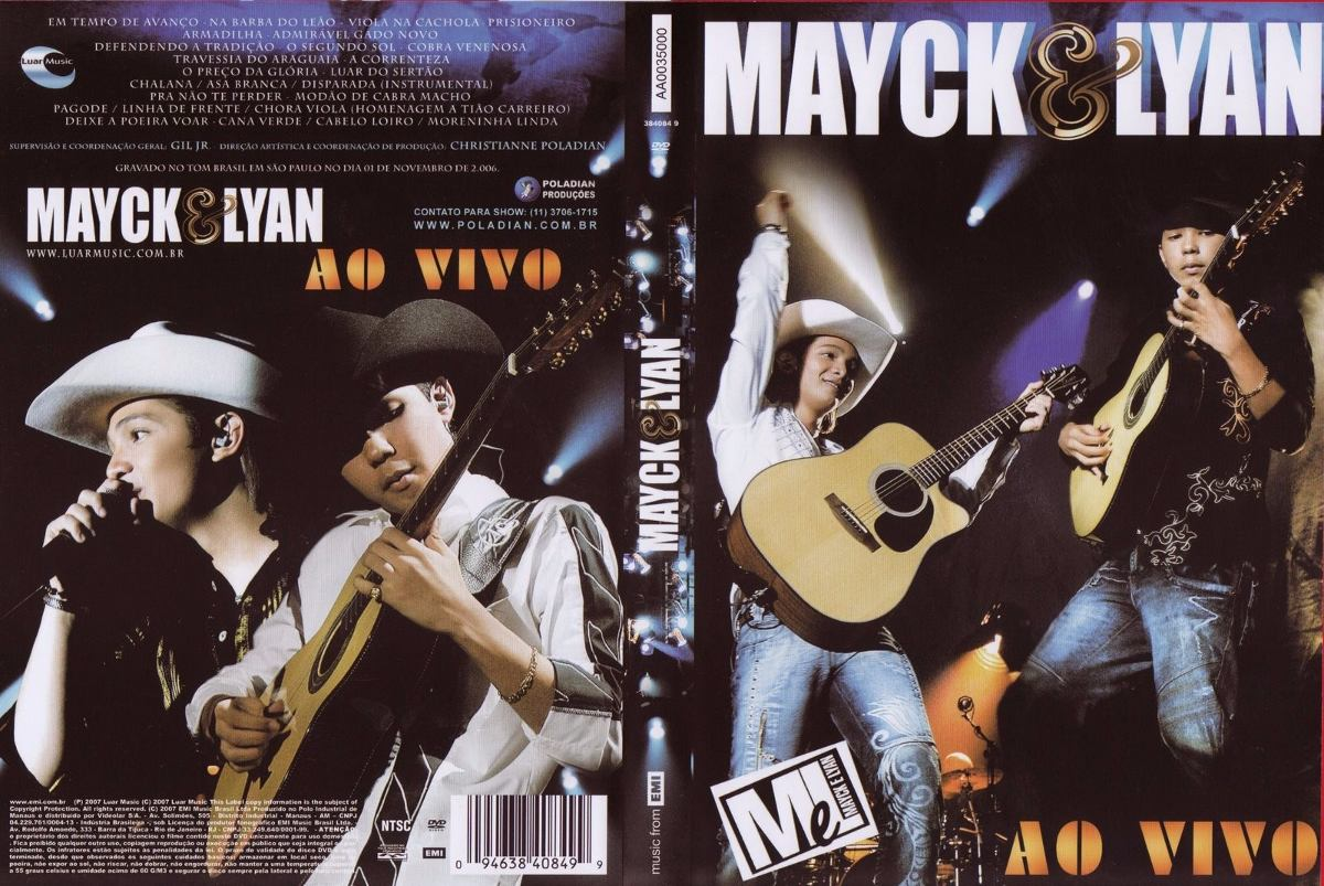 dvd mayck e lyan