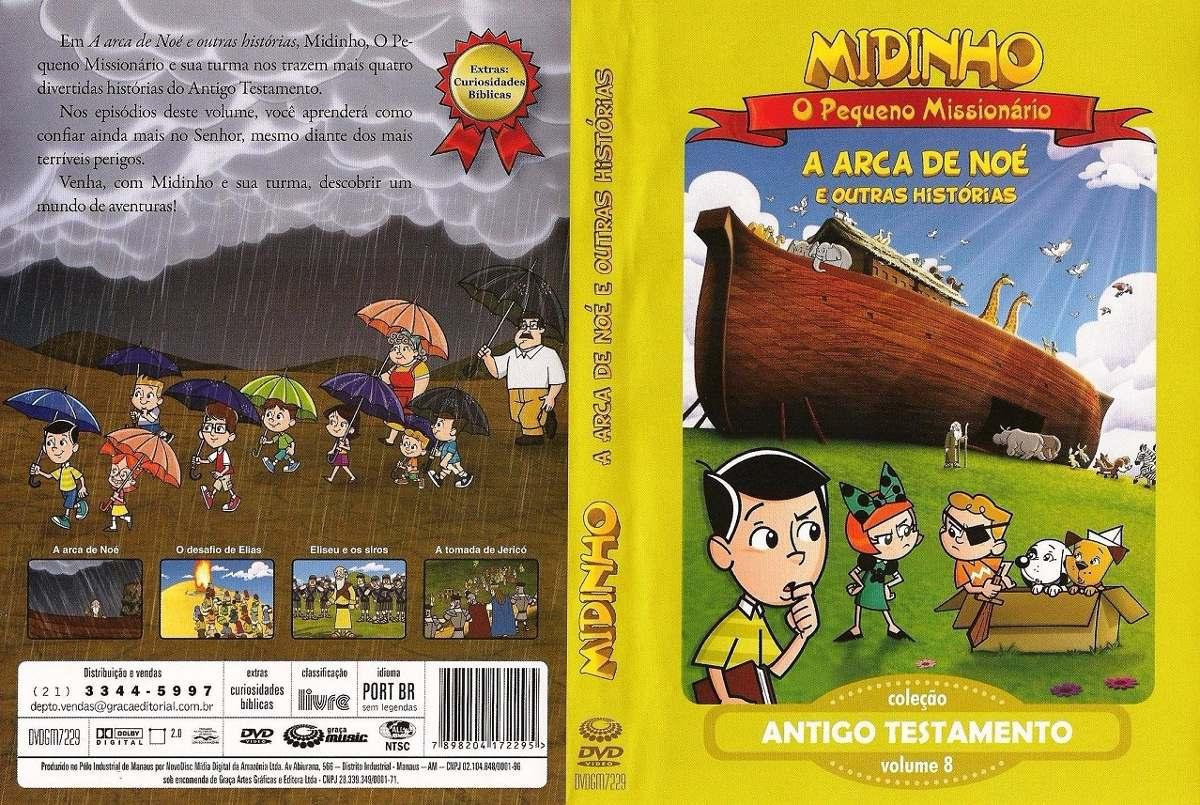 dvd do midinho para