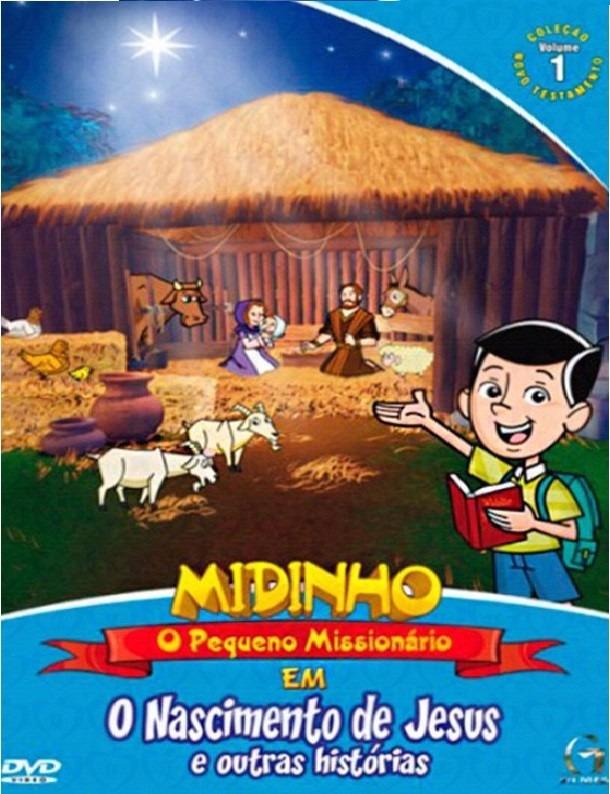 dvd midinho o pequeno missionario