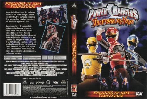 dvd lacrado power rangers tempestade ninja preludio de uma t