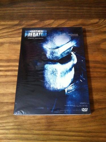 dvd lacrado/novo - o predador - edição definitiva - duplo