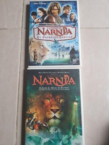 dvd las crónicas de narnia  1 y 2
