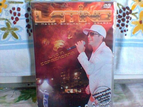 dvd latino  @  live in copacabana   -lacrado-