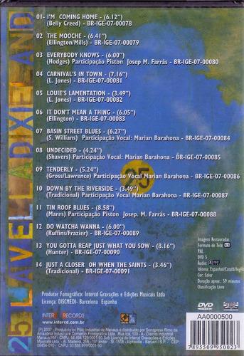 dvd lavella dixieland - 25 - novo***
