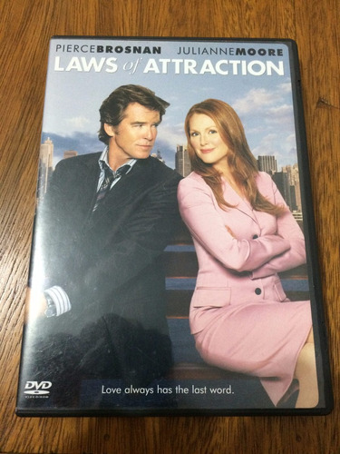 dvd laws of attraction (import - leis da atração)