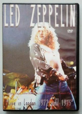 dvd led zeppelin - live in london 1972 until 1975