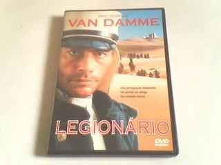 dvd legionário (edição com encarte interno)