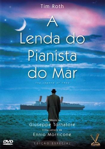 dvd lenda do pianista do mar - giuseppe tornatore 1998 +