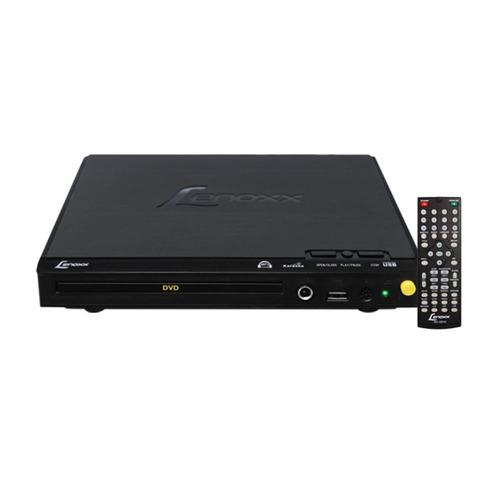 dvd lenoxx portátil com função karaokê e entrada para mi