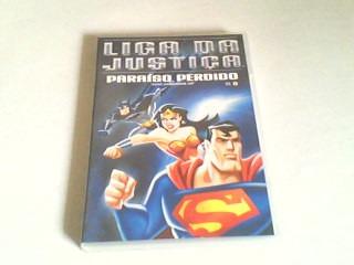 dvd liga da justiça - o paraiso perdido