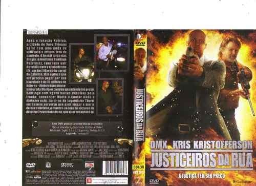 dvd light justiceiros da rua (com sheldon rob original...