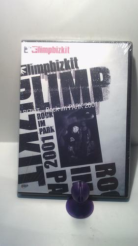 dvd - limp bizkit rock im park 2001 -  dvd original