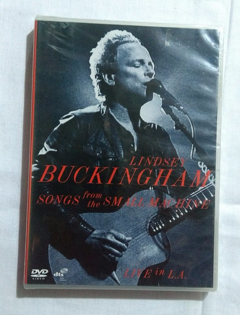 Dvd Lindsey Buckingham Songs From Small Machine Lacrado