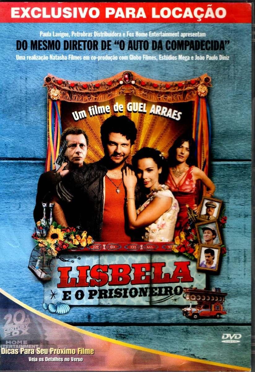 Dvd Lisbela E O Prisioneiro - Original - - R$ 51,40 em Mercado Livre