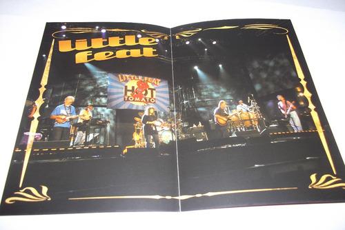 dvd - little feat - live in st. louis 2003 - encarte