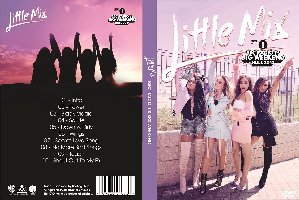Dvd Little Mix - Bbc Radio 1's Big Weekend 2017