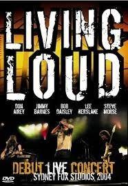 dvd living loud  debut live concert sidney
