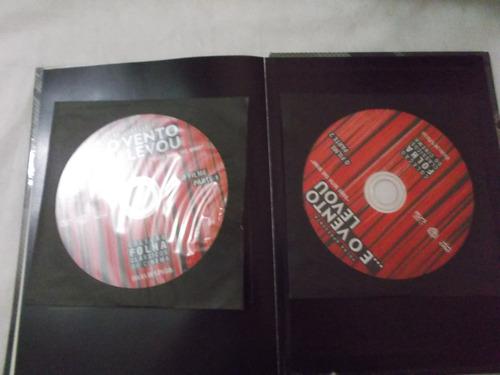 dvd+ livro eo vento levou vol 1: 3 discos clark gable