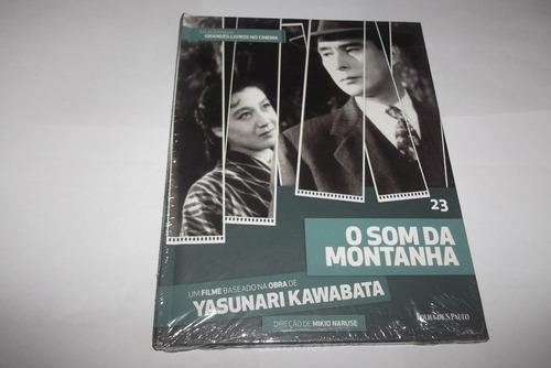 dvd + livro : o som da montanha - 1954 - filme japonês