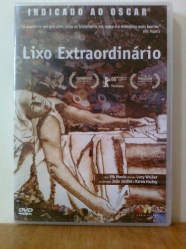 dvd lixo extraordinário - novo