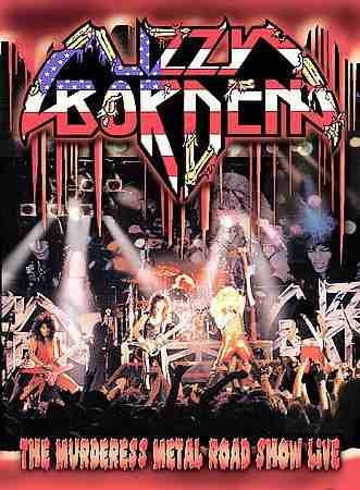 dvd lizzy borden the murderess metal road show live