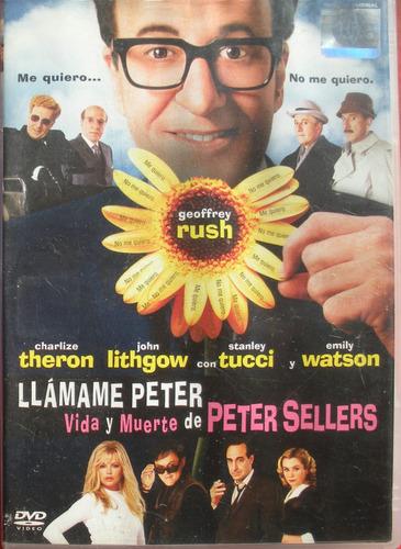 dvd - llamame peter - vida y muerte de peter sellers