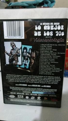 dvd lo mejor de los 70s (varios)